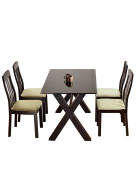 ARTIC X 900 DINING TABLE - 4X2.5 + AURA XL CHAIR