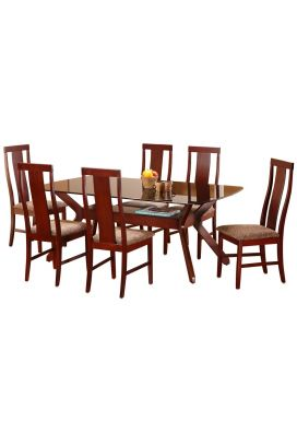 CHERRY BIG DINING TABLE - 6X3.5 + DAVE CHAIR