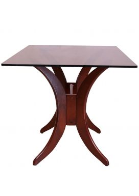 BEATA GLASS DINING TABLE