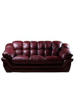 RECRON LEATHER SOFA