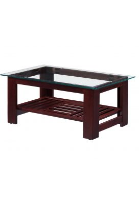 "ASTER LT COFFEE TABLE+ ABA RACK - 36"" x 22"""