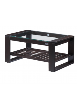 "MOROCCO COFFEE TABLE+ AB RACK - 36"" x 22"""
