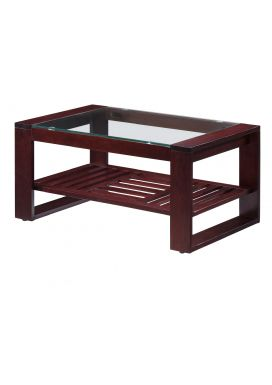 "MOROCCO COFFEE TABLE+ ABA RACK - 36"" x 22"""