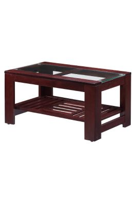 "ASTER DELUXE  COFFEE TABLE+ ABA RACK - 36"" x 22"""